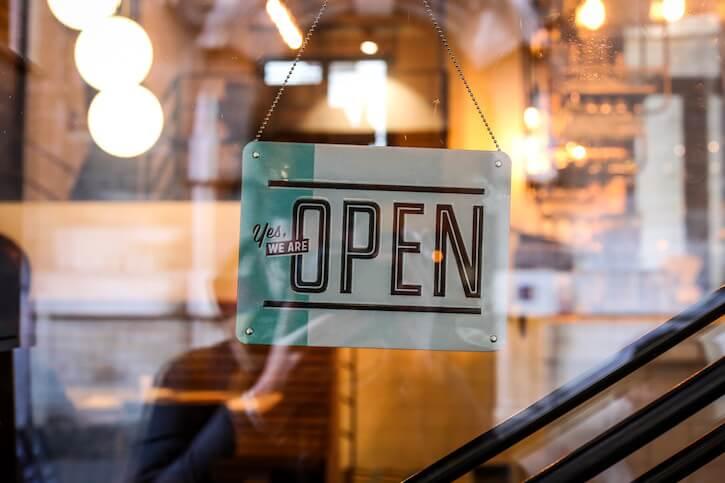 shop open sign