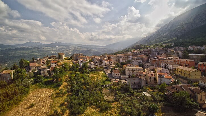 Abruzzo city view