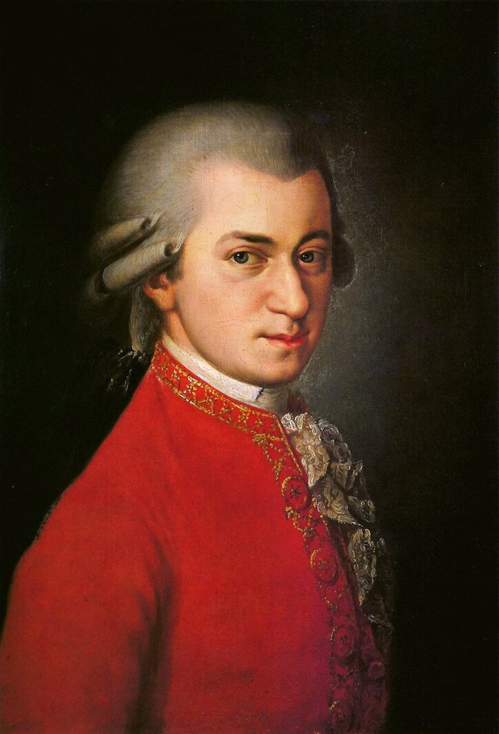Mozart portrate