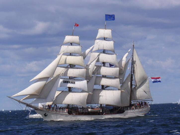 SV Europa barque