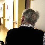 old man at hospital