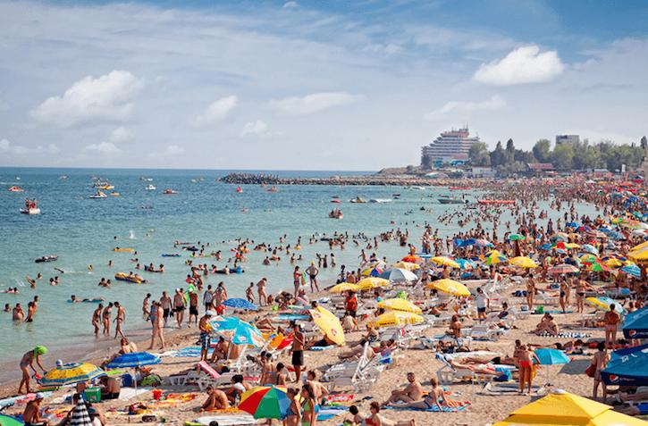 Plaja Costinesti Romania