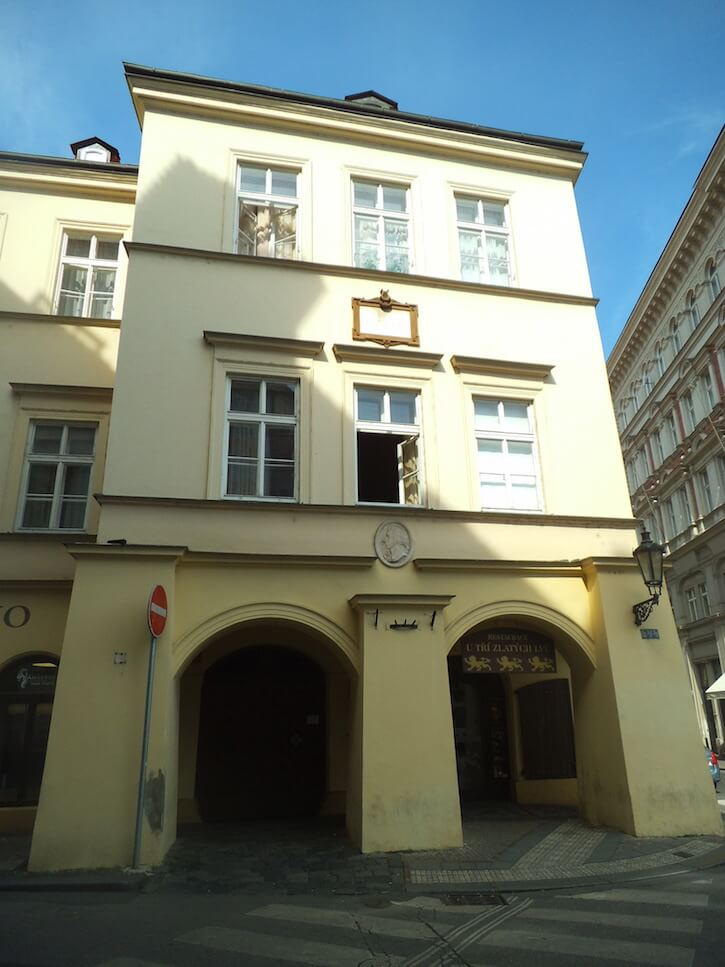 The House of the Three Golden Lions