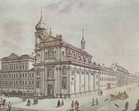 View of Prague in 1785 Wikimedia Commons