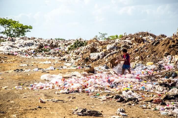 poverty pollution third world countries