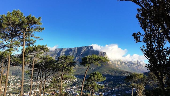 Cape Town –Table Mountain