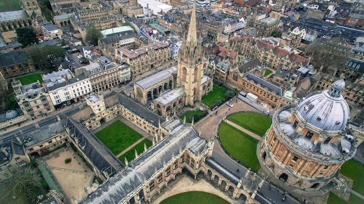 University of Oxford Oxford United Kingdom